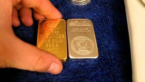 gold bullions coin